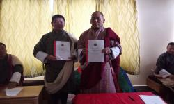 Dasho with Chief DEO